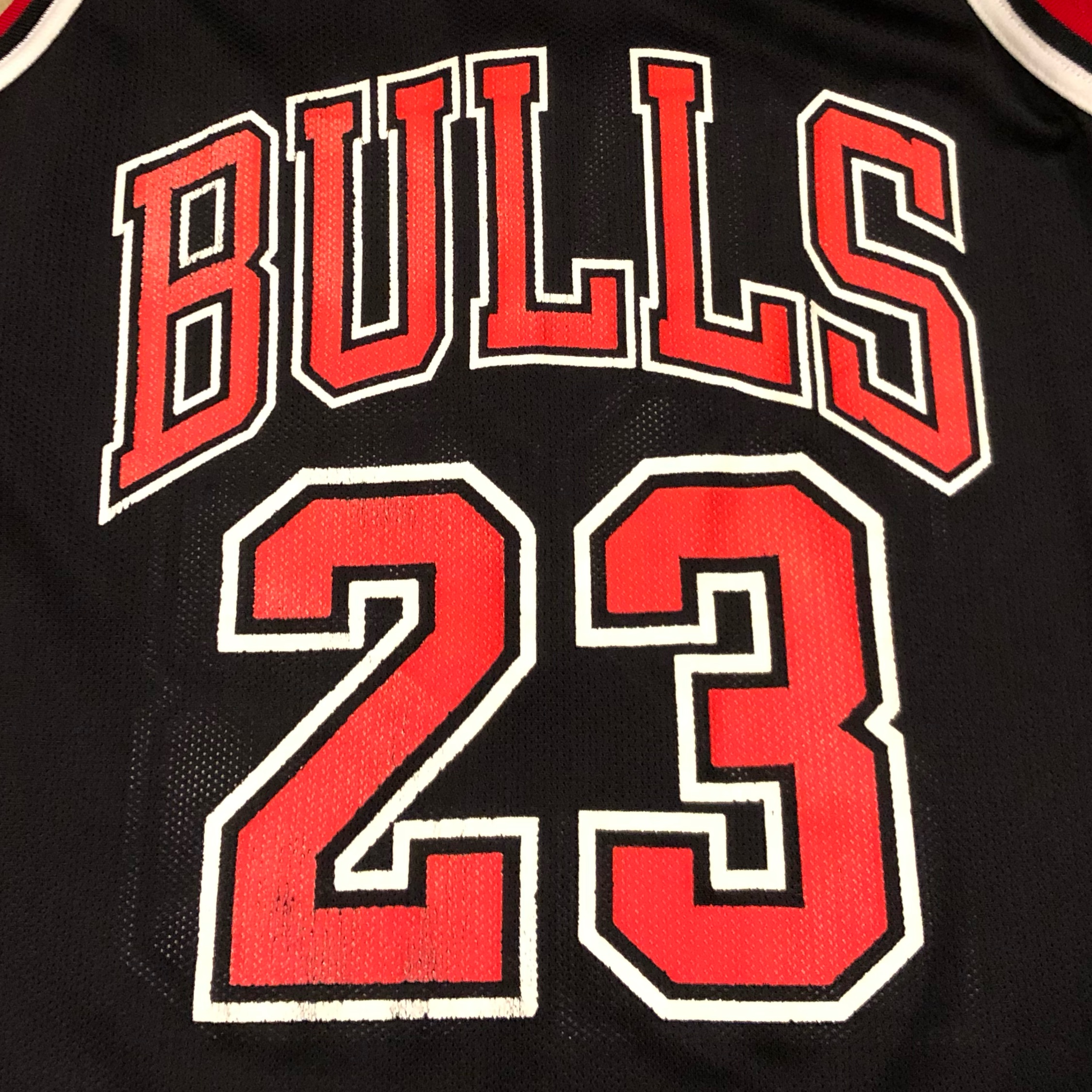 new style 4e808 eaa2a 90'S Chicago Bulls Michael Jordan Jersey Black Red