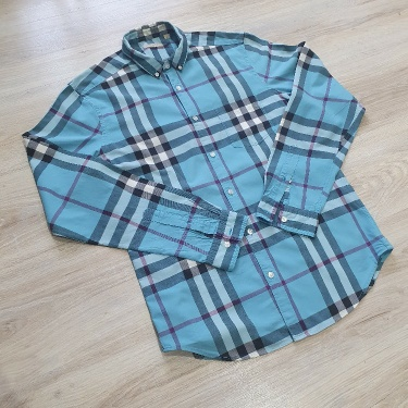 Burberry blue nova check shirt SUMMER price great condition
