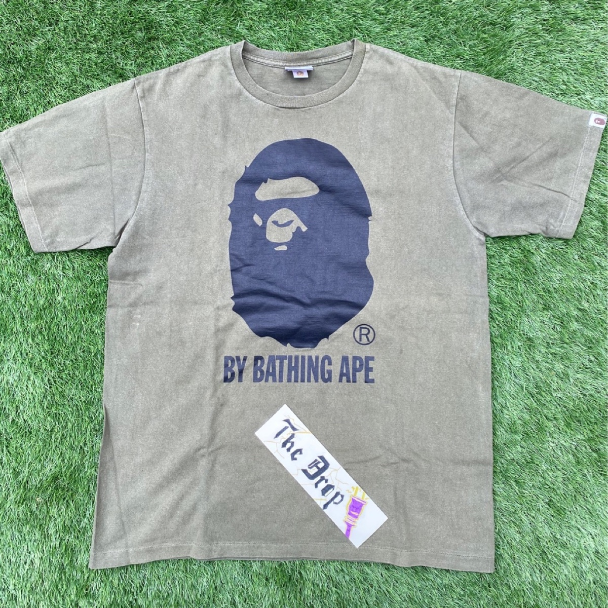 BAPE Relaxed Bape Tee Green