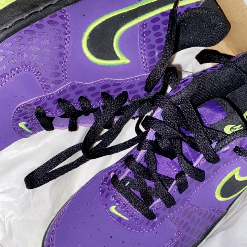 Air Force 1 Low Court Purple Neptune Green (GS)