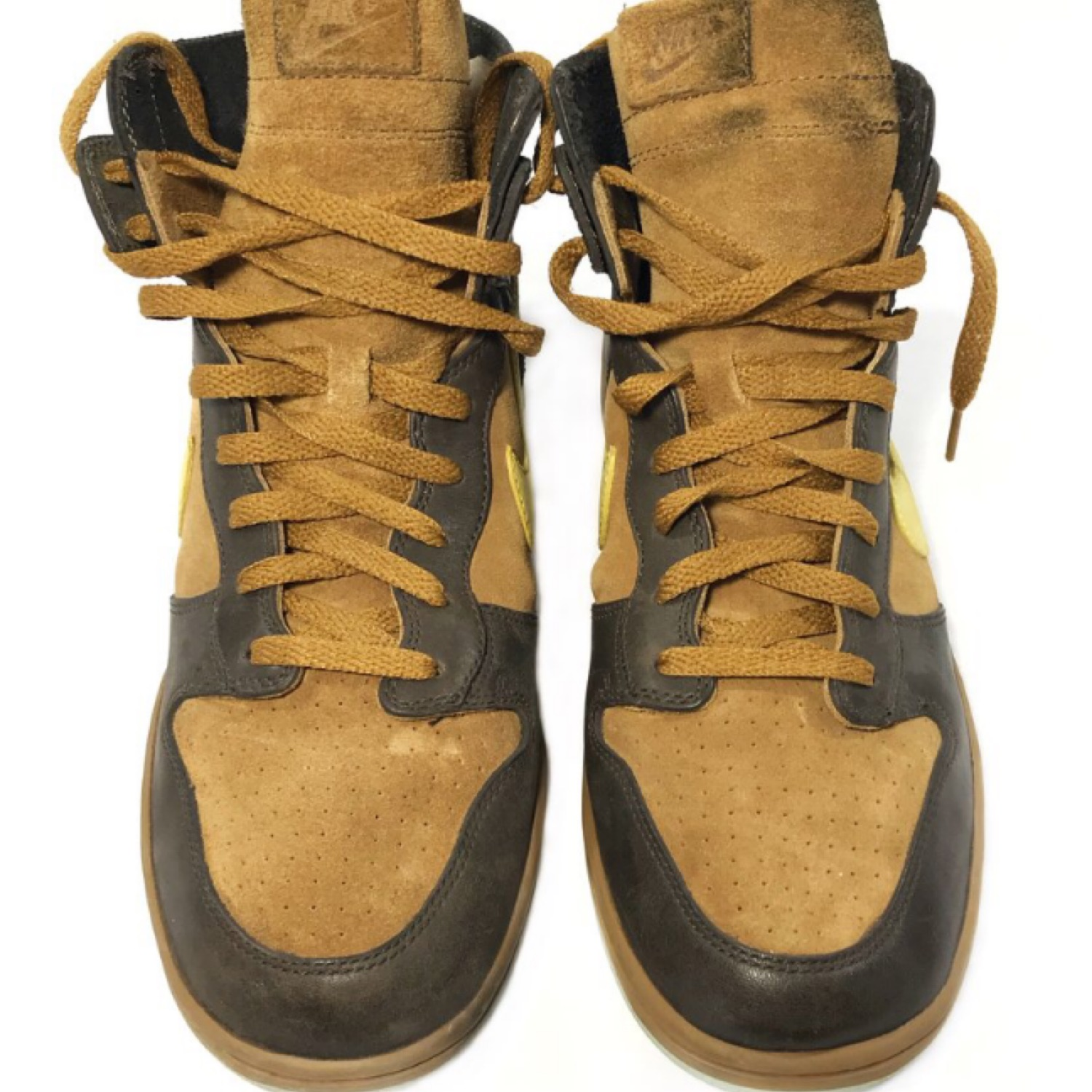 Vintage Nike Dunk High Nl Leather Suede