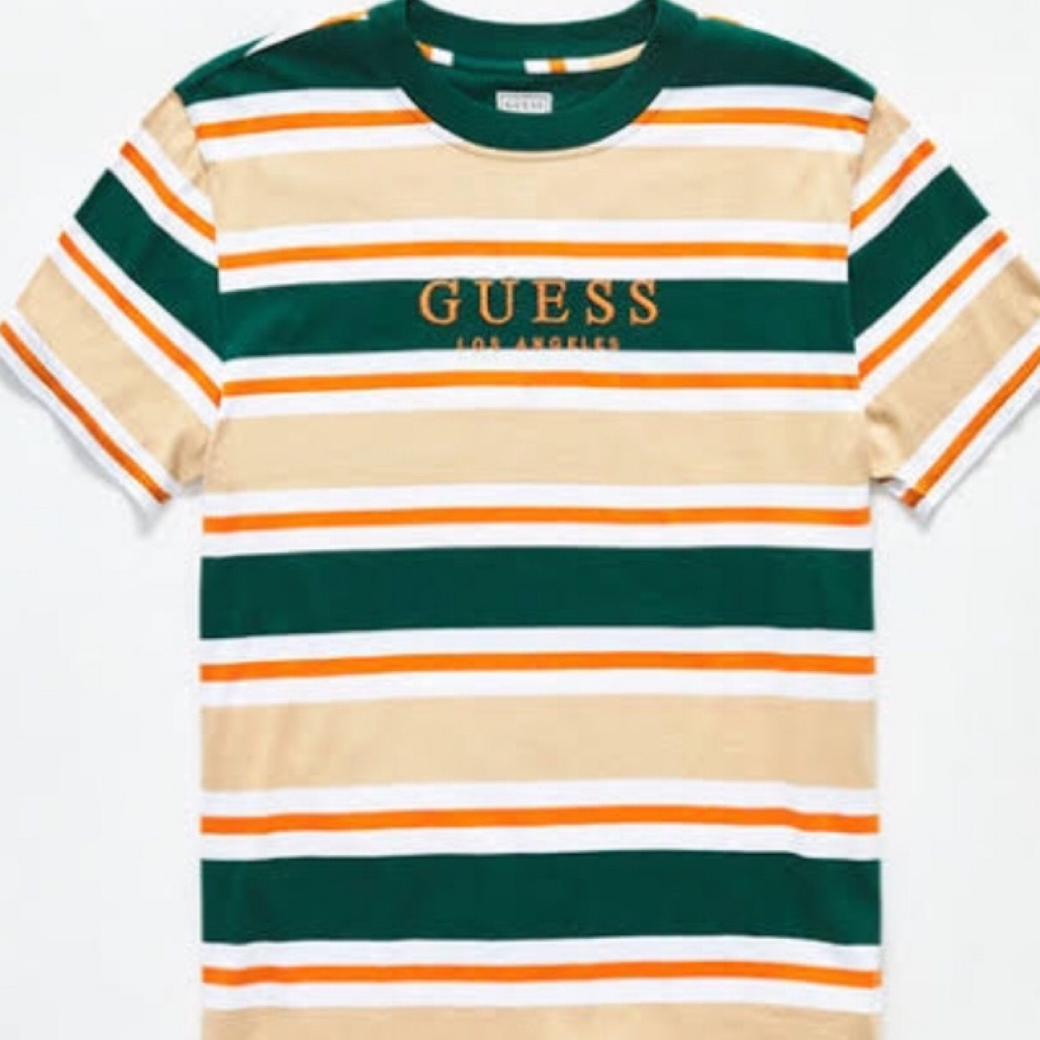 1b0486663 Guess Brand New Oversized Striped Tee
