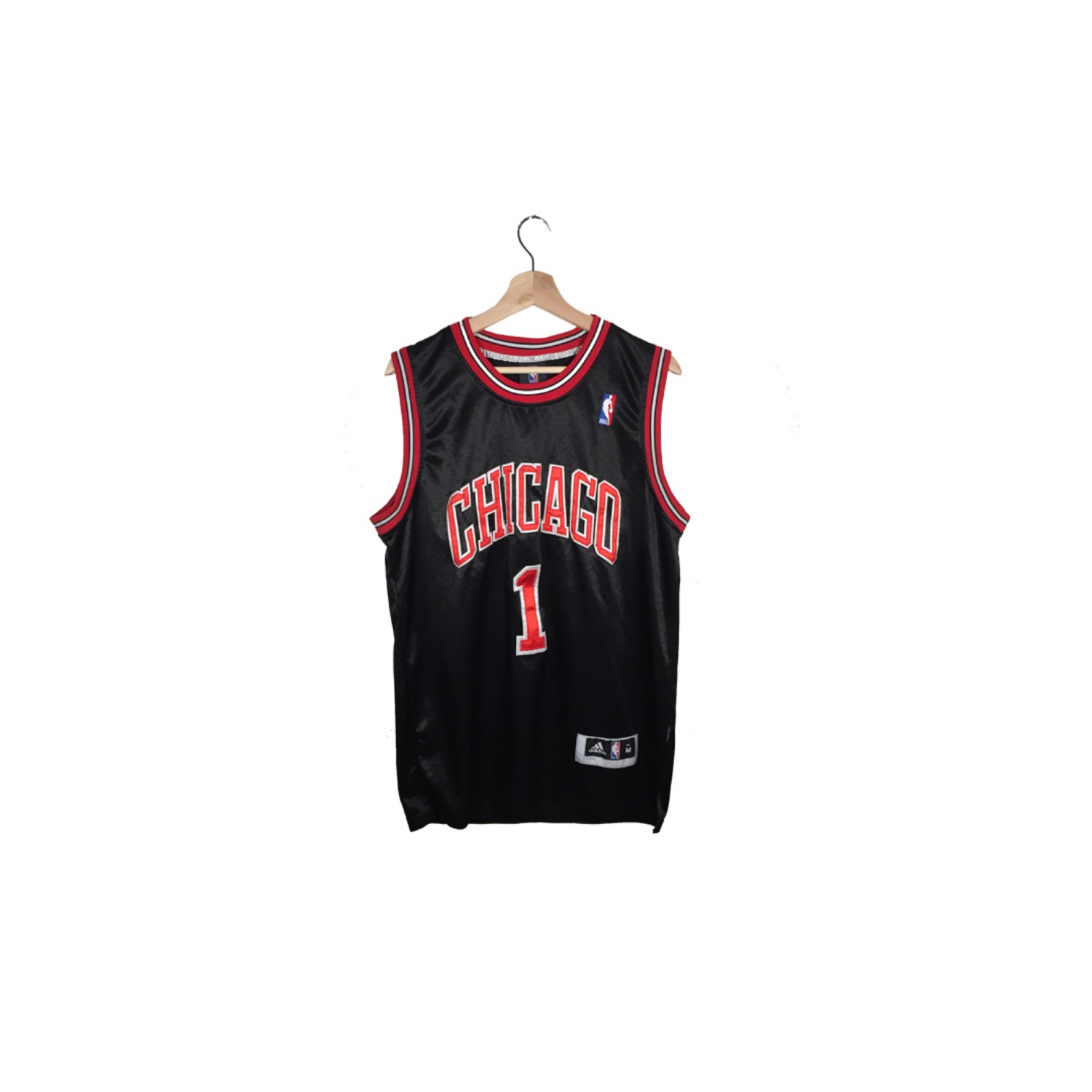 buy popular c610b e88a2 Vintage Derrick Rose Chicago Bulls Home Jersey