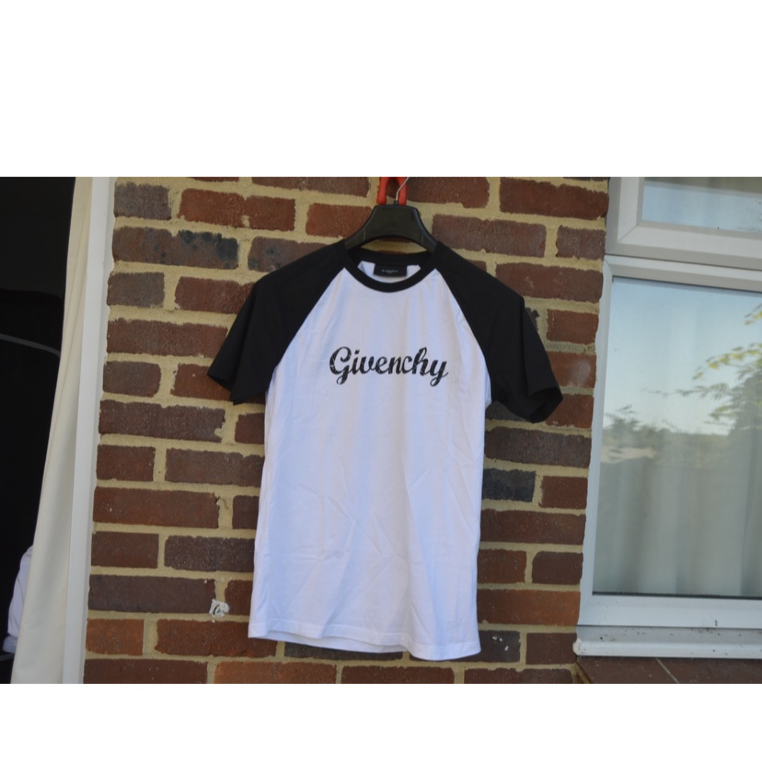 Givenchy Black And White Logo T-Shirt