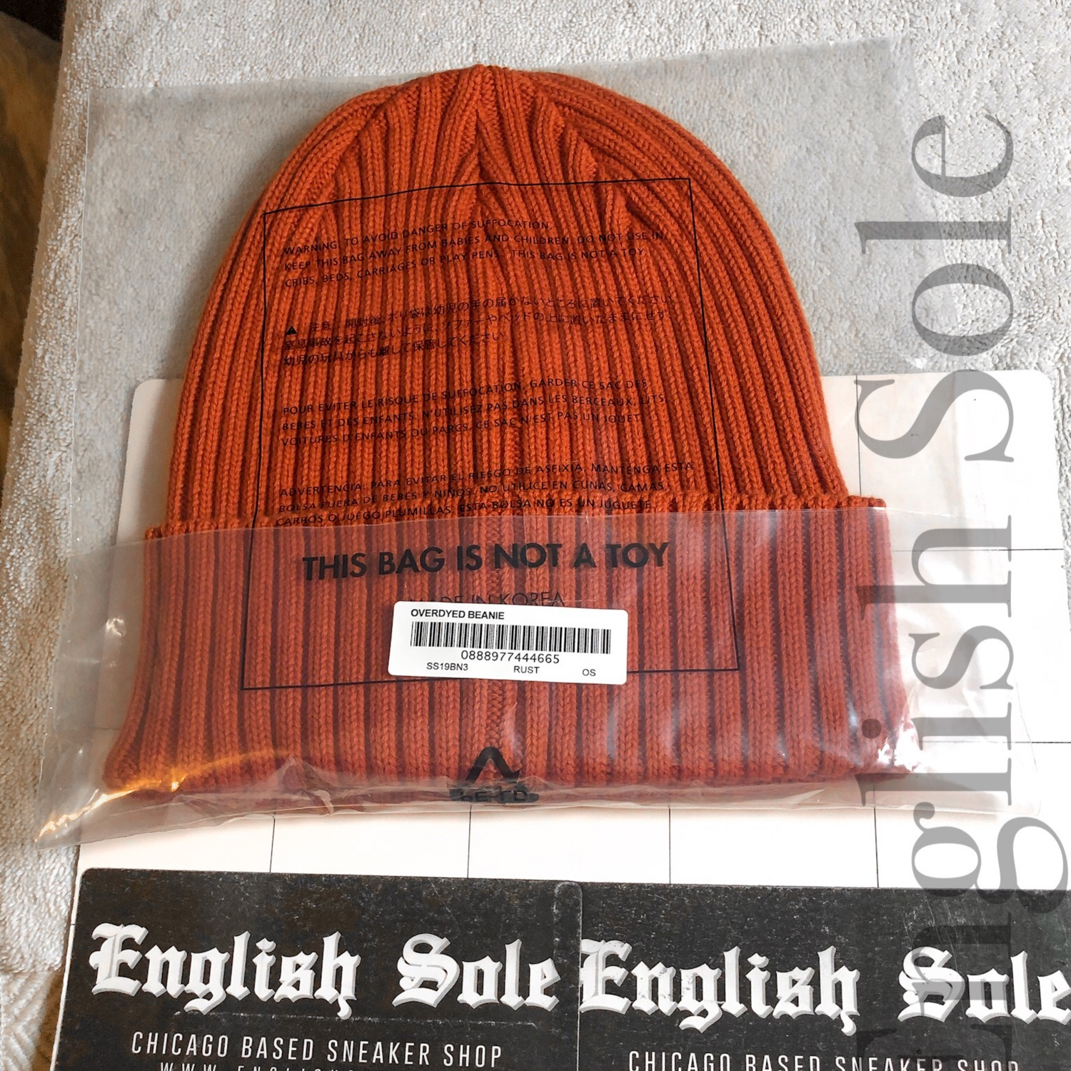 91d2ad92a Supreme - Overdyed Beanie