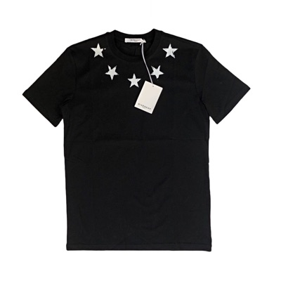 Givenchy Black Men's Short Serve T-Shirt