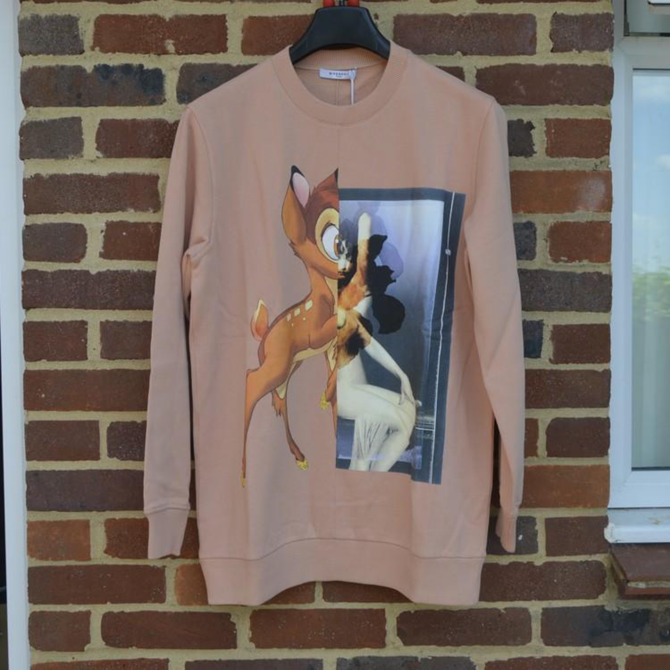 Givenchy Pink Bambi Sweater