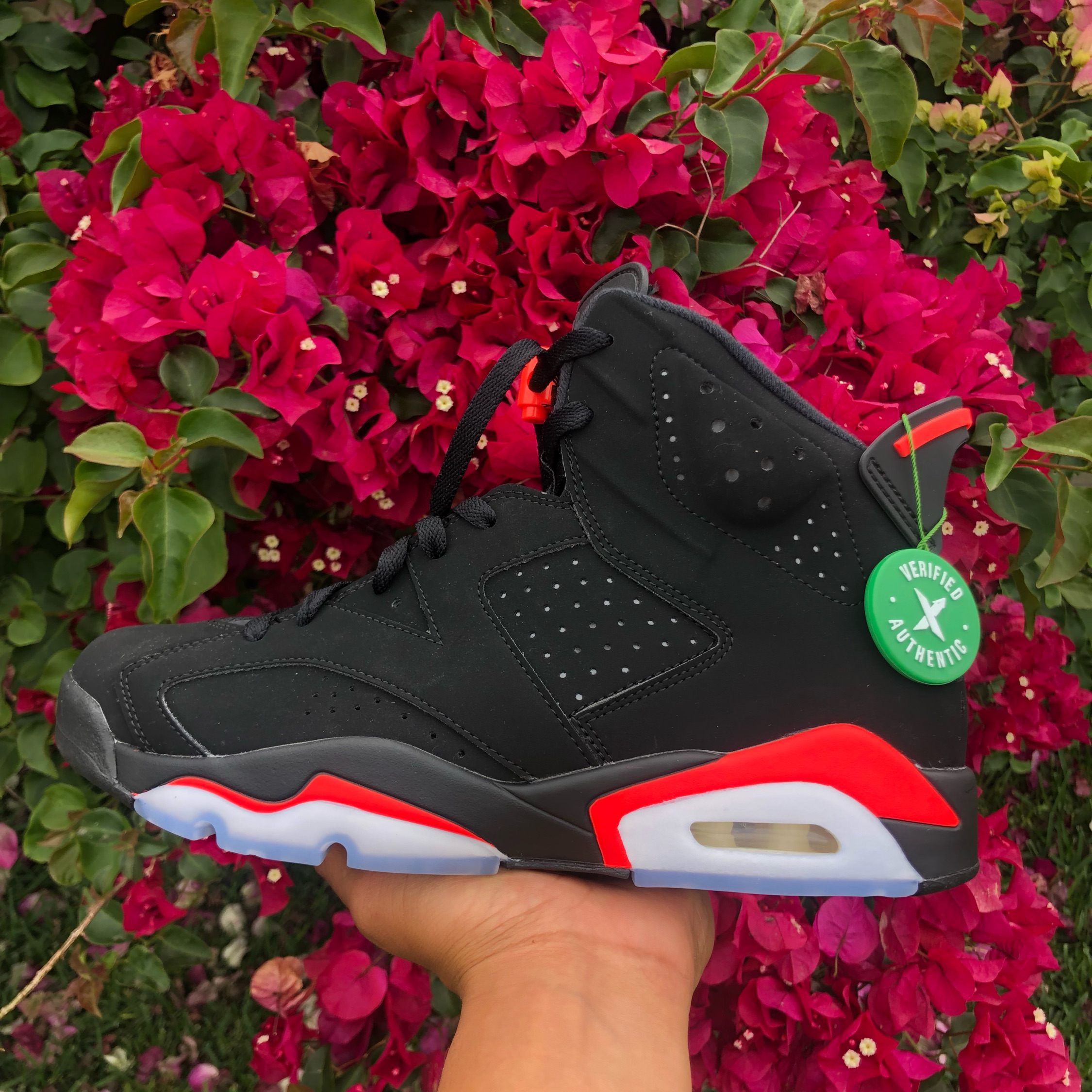 huge discount 03d01 441d1 Jordan 6 Infrared