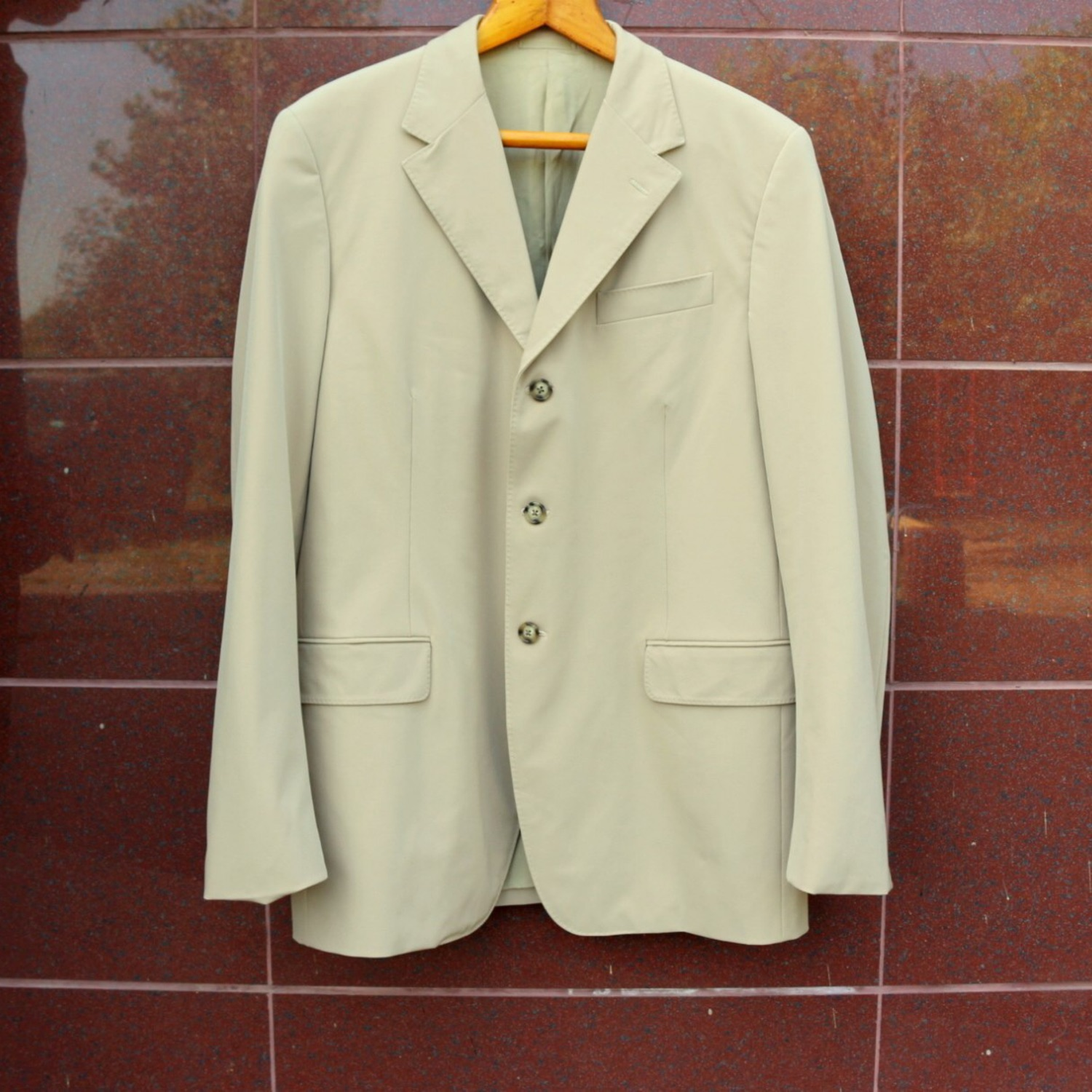 Prada Jacket 52R Classic Made In Italy