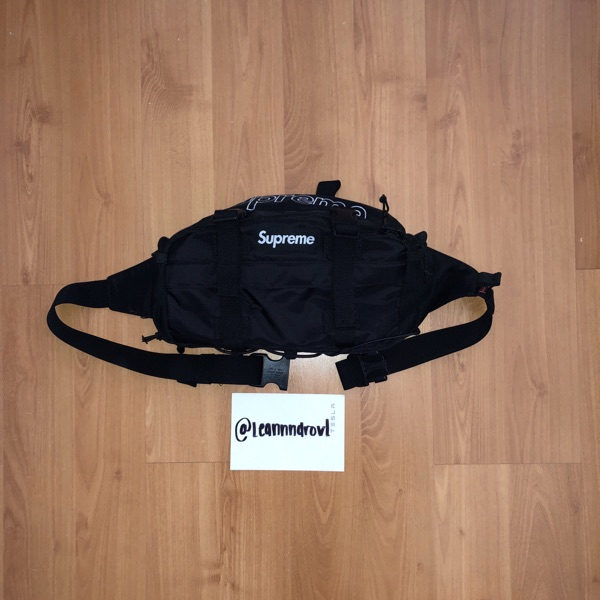 Supreme Waist Bag (FW19) Black