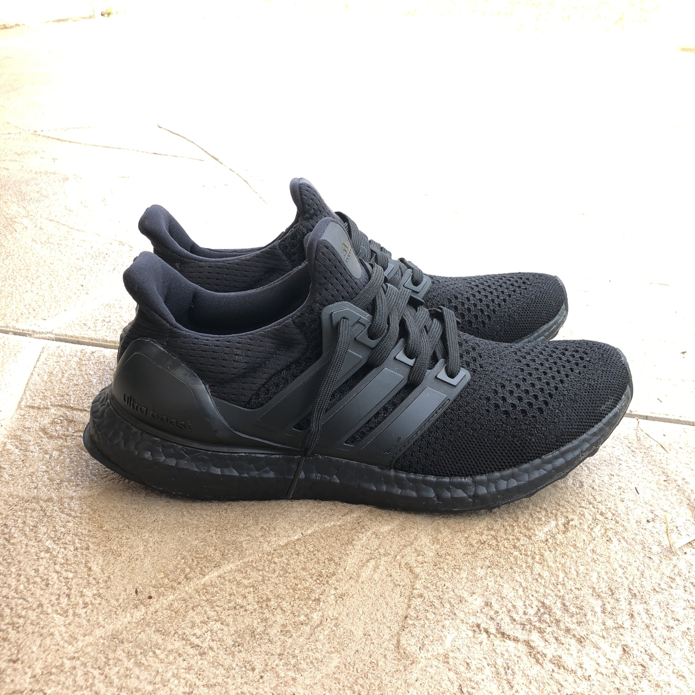 Adidas Ultra Boost Triple Black 1.0