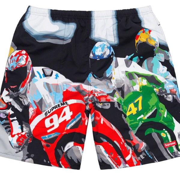 Supreme Racing Water Short / Multicolor Ss20