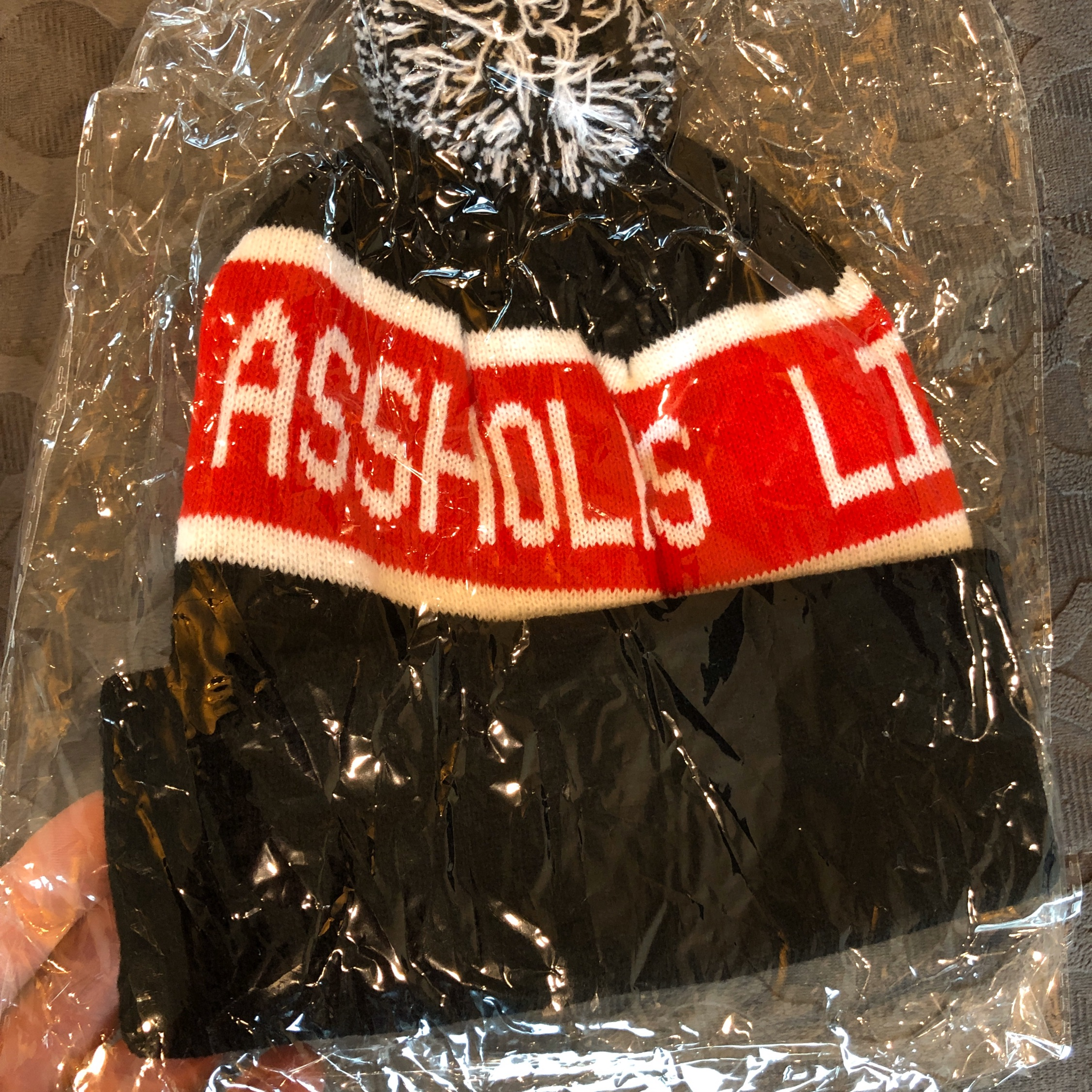 """Alf Classic """"Going Away To College"""" Beanie (Os)"""