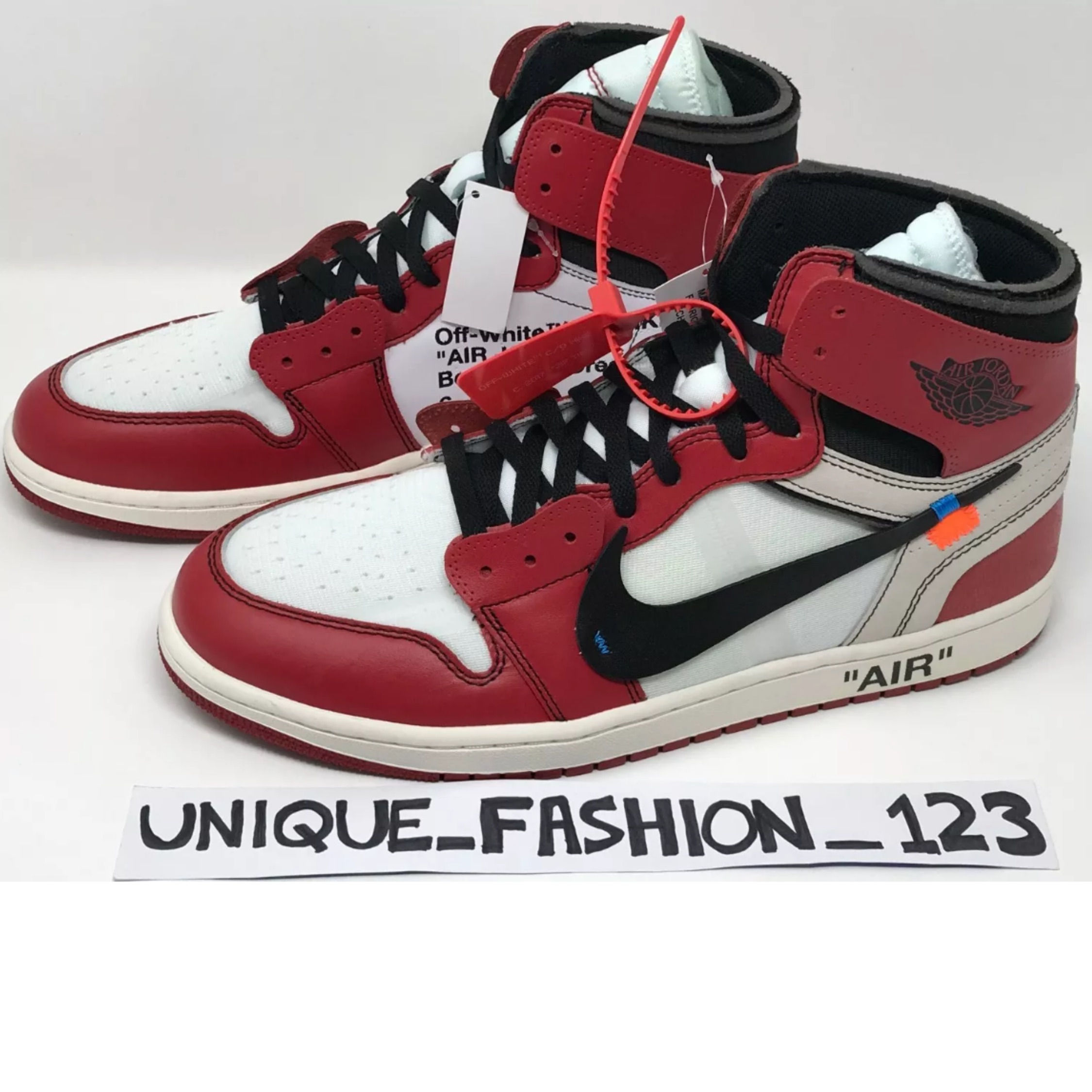 finest selection e5a9f 0518c Nike Air Jordan 1 Retro High X Off White Chicago