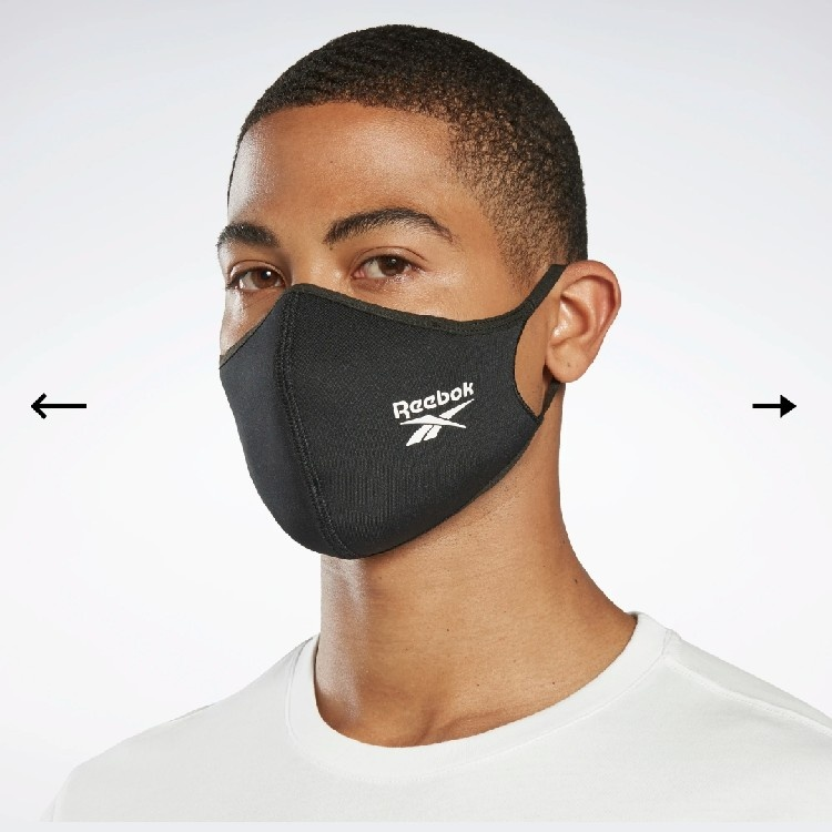 Reebok MASK / FACE COVER x3 (Size S)