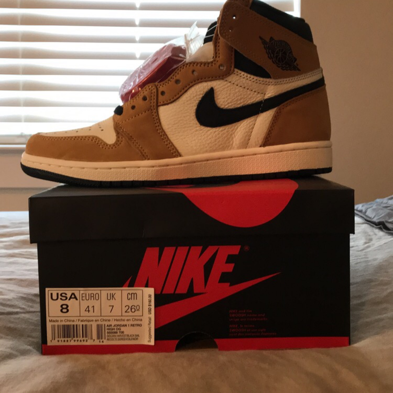 Air Jordan 1 Rookie Of The Year Size 8