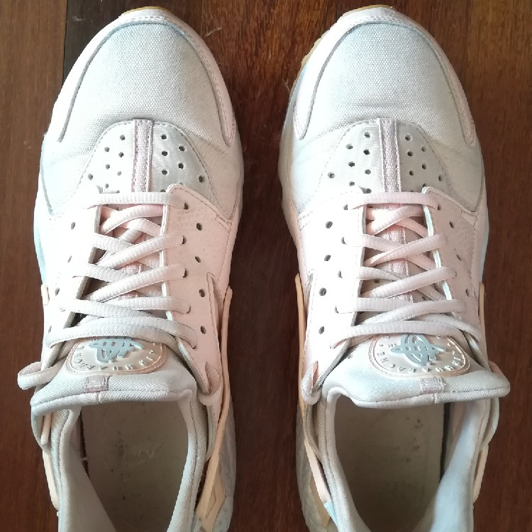 nike air huarache run donna rosa