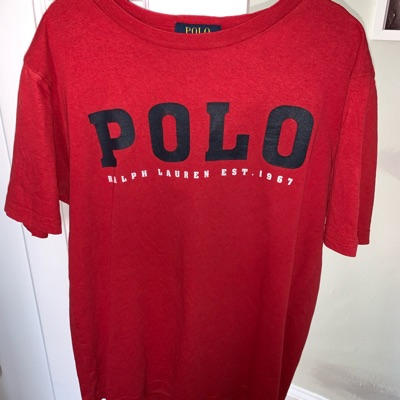 Polo Ralph Lauren Red Top