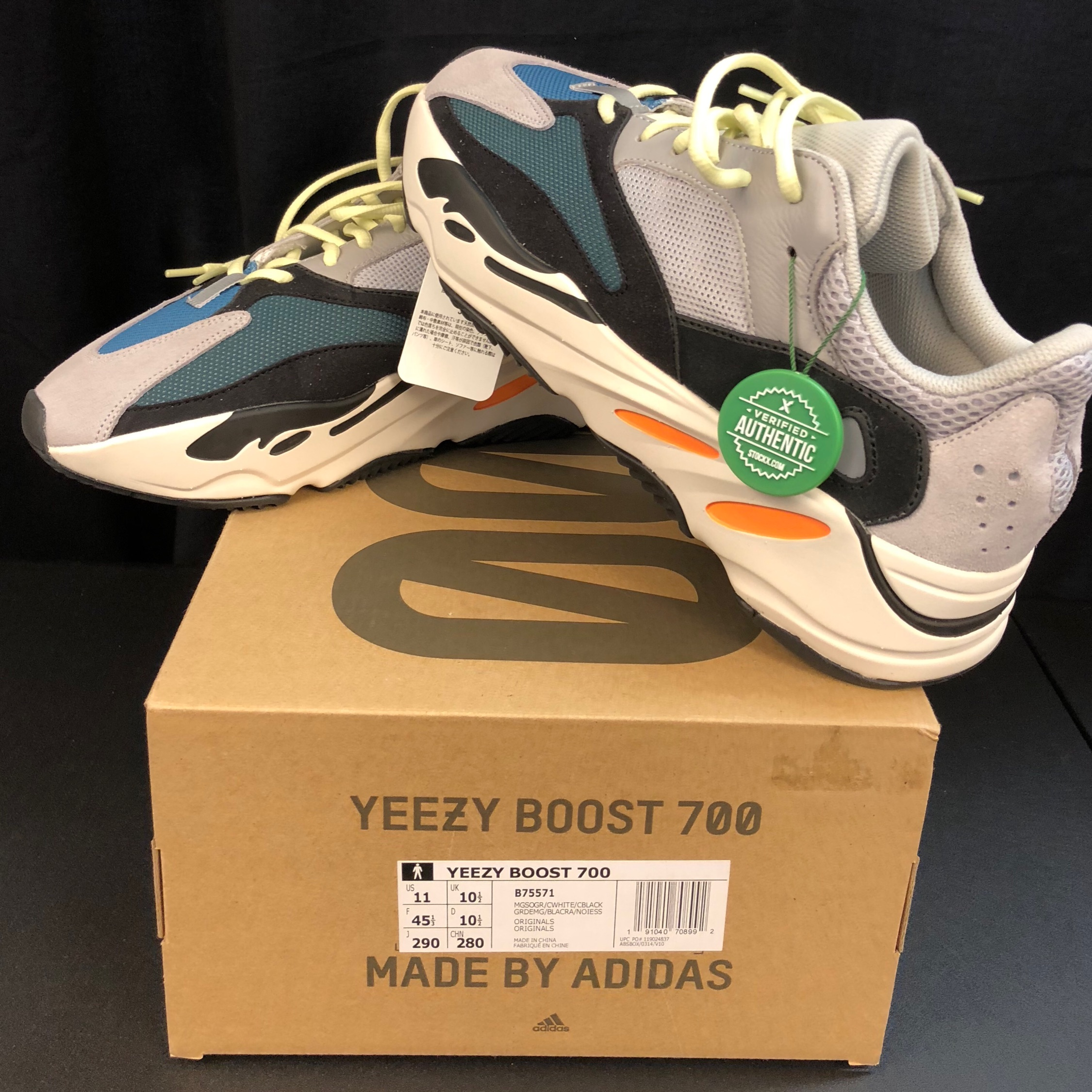 new product a2a99 fbacb Yeezy Boost 350 Wave Runner Sz 11 Stockx Verified