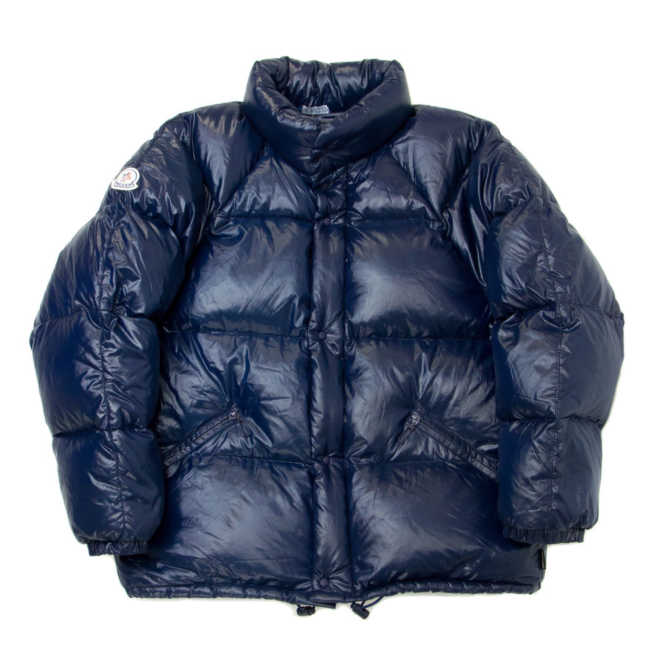 785aafd40 Moncler Grenoble Down Puffer Jacket Navy Rare 90S