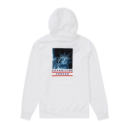 Supreme X North Face Statue Of Liberty Sweatshirt