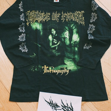 "Cradle of Filth ""Thornography"" Euro Tour 2006 - Long Sleeve"