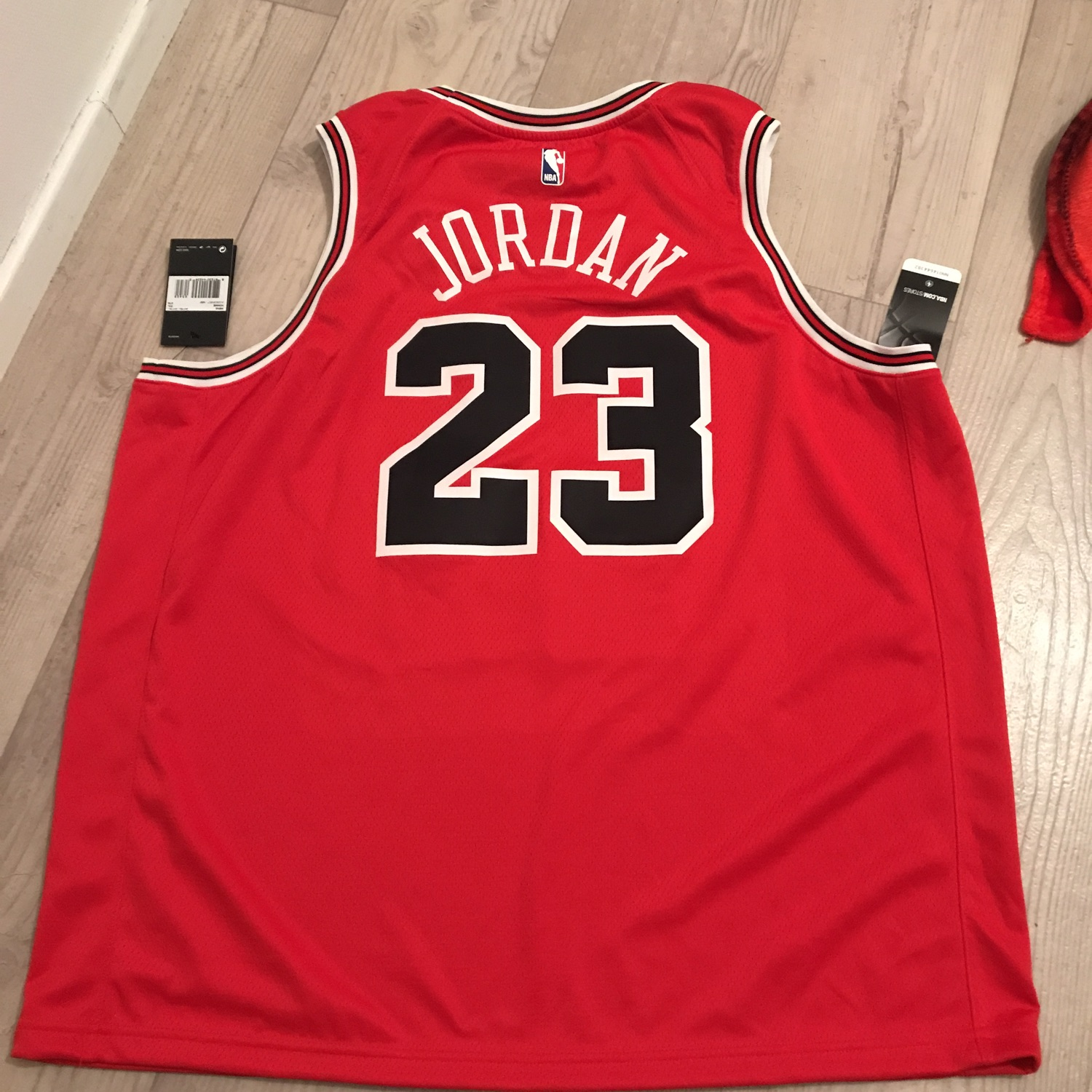 competitive price b898a 2db7f Michael Jordan's Official Jersey