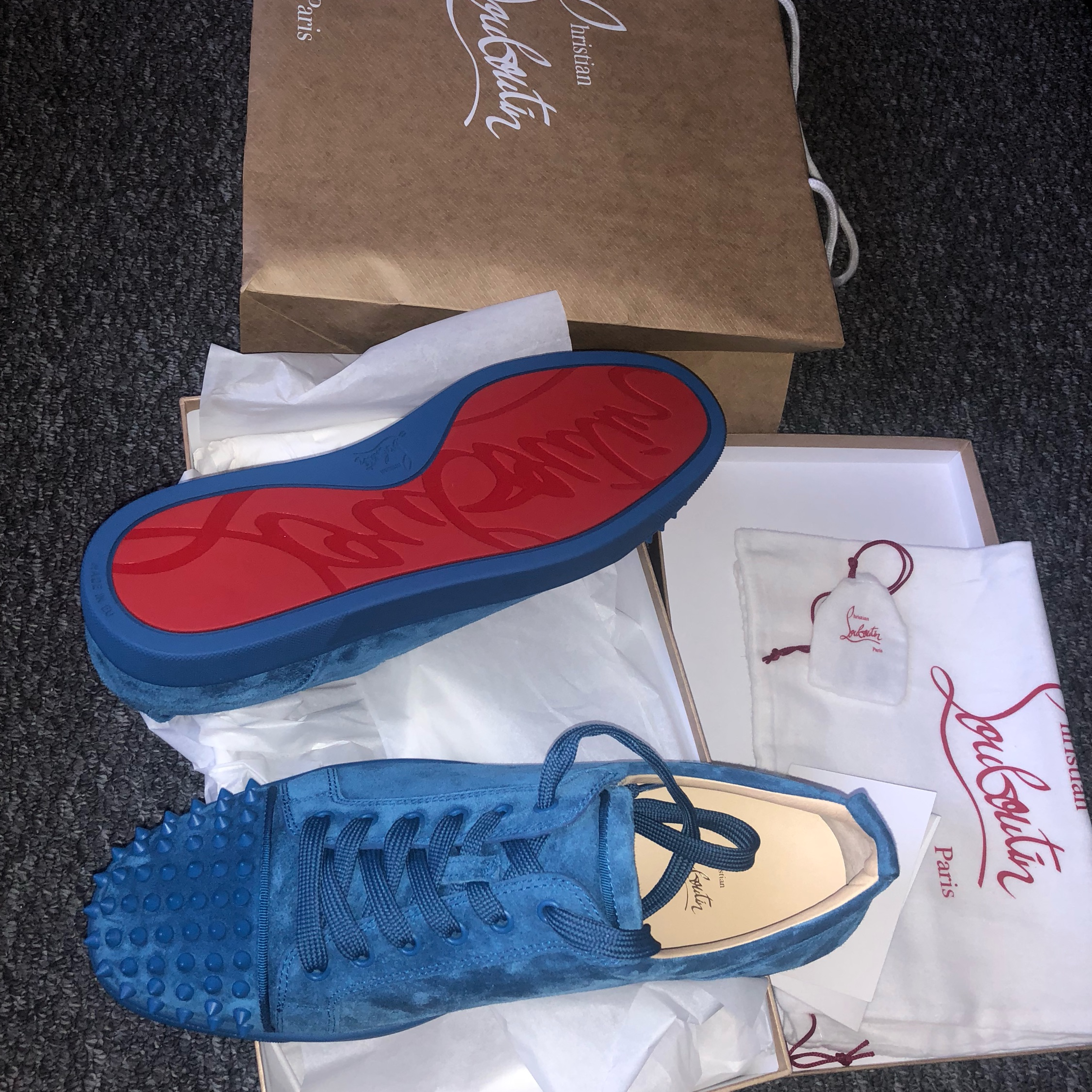 check out 01824 4d24c Christian Louboutin Sneakers