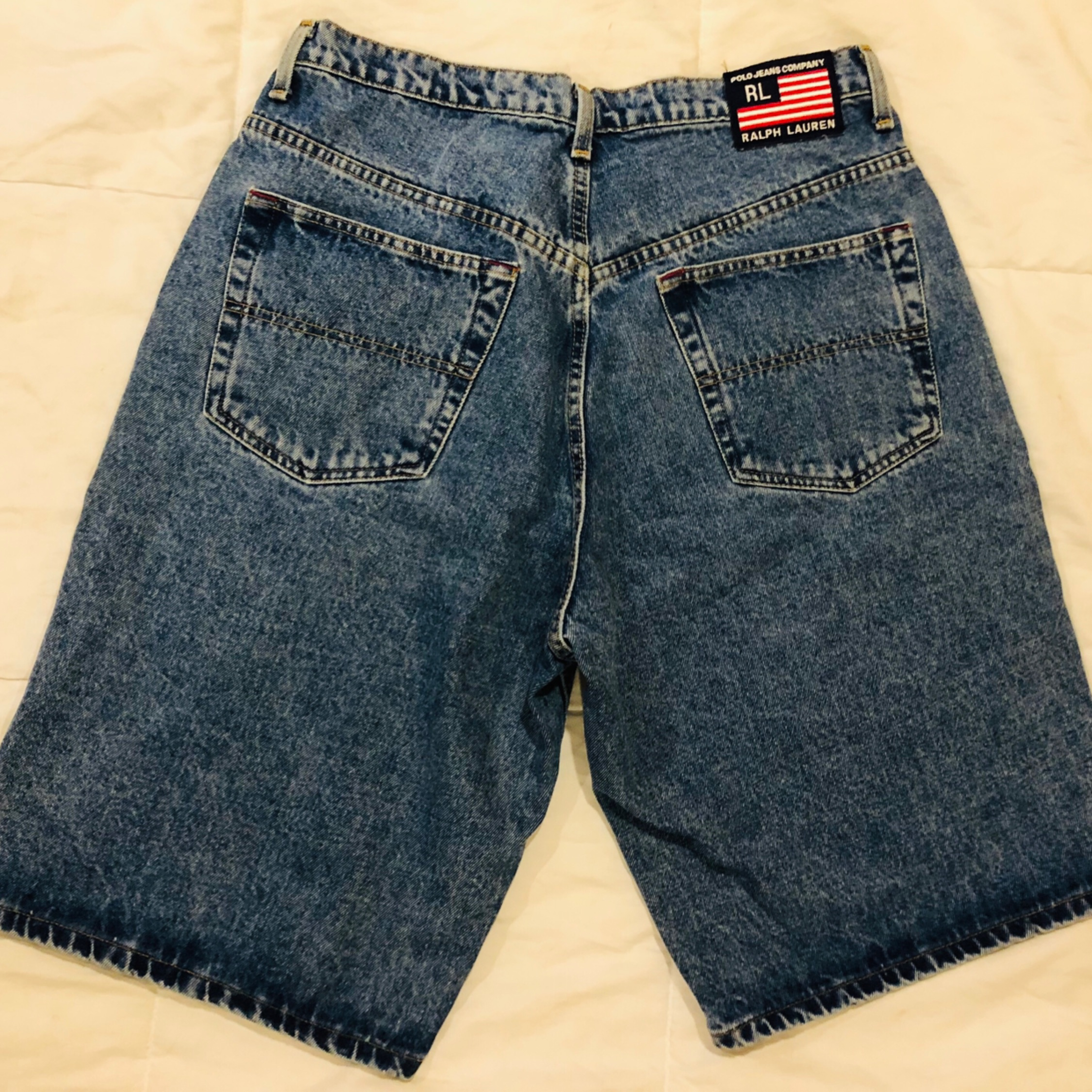 13a39fb6 Vintage Polo Jeans Company Men's Jean Shorts