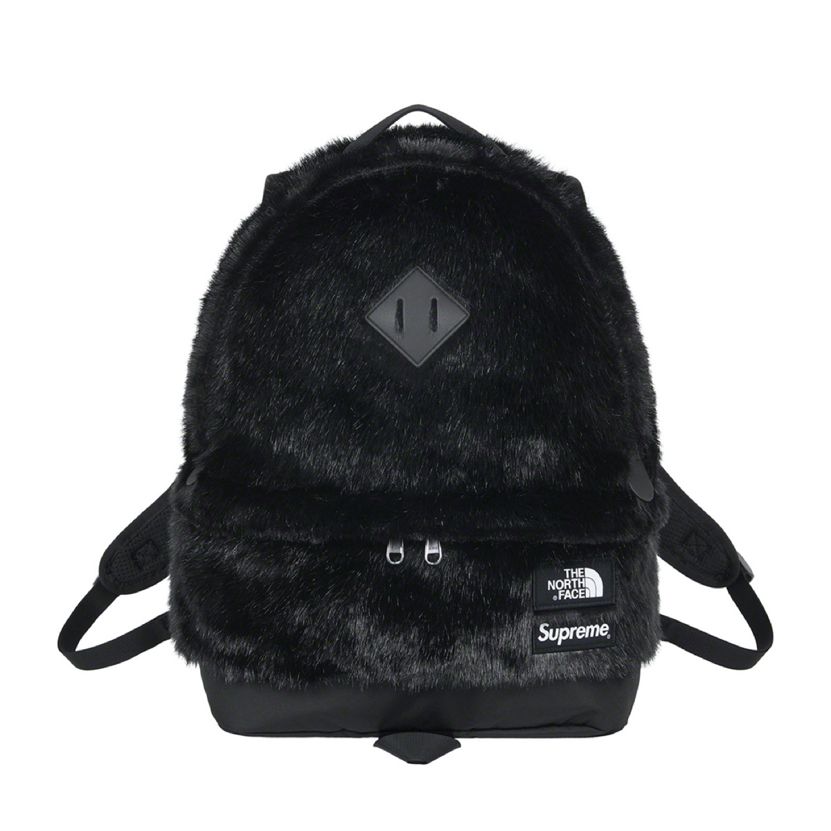 Supreme The North Face Faux Fur Backpack Black