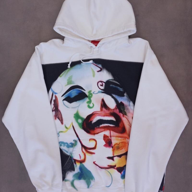 Supreme Airbrushed Leigh Bowery Hoodie