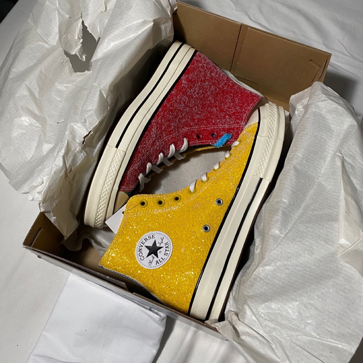 Converse Chuck Taylor All-Star 70s HI JW Anderson Cherry Sulfur