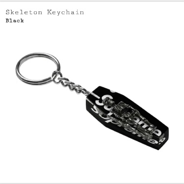 Supreme Skeleton keychain