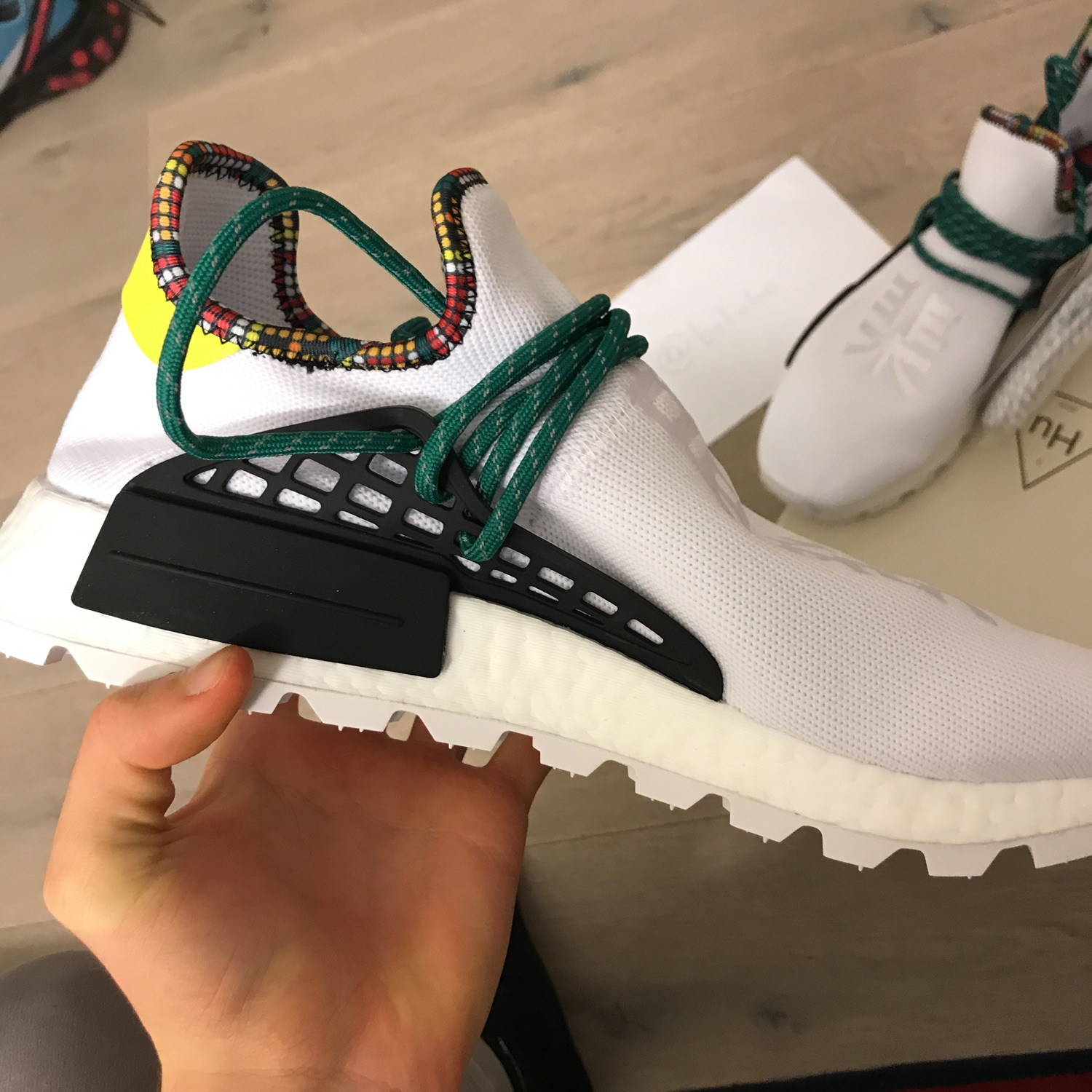 info for 31dd2 98b1f Adidas Pharrell Solar Human Race Nmd Retail!!!!