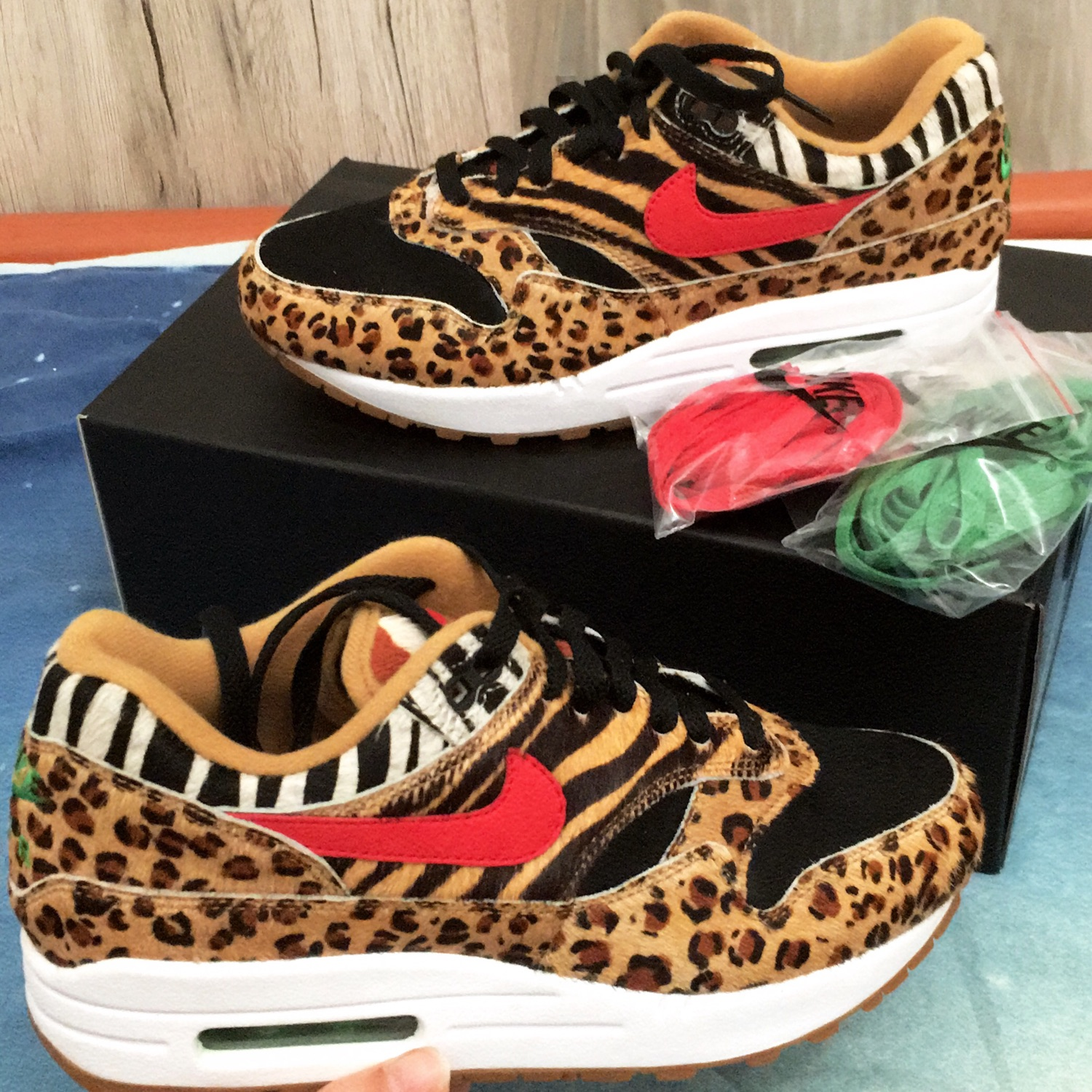 "pretty nice fb08f 04bf8 Nike Air Max 1 X Atmos ""Animal Pack 2.0"""