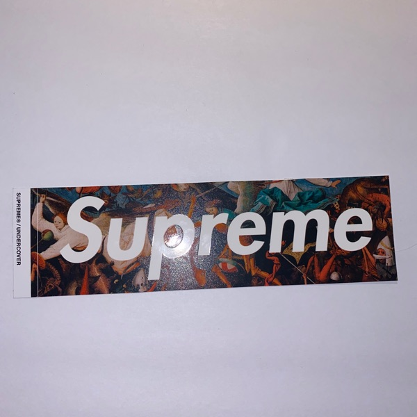 Undercover Box Logo Sticker