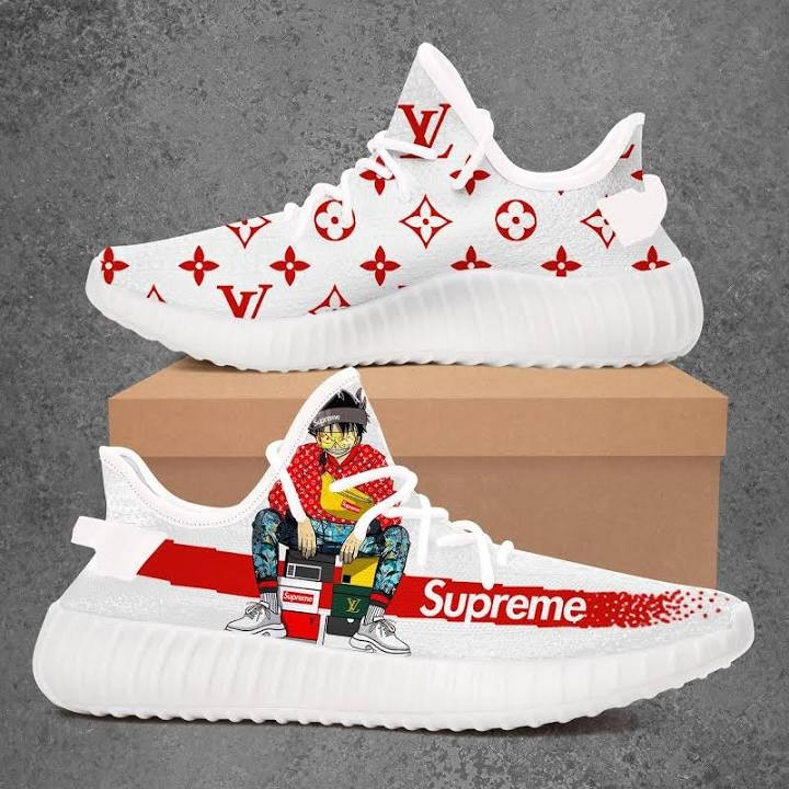 new concept 6f56d aedbf One Piece Bad Boy Supreme Louis Vuitton Adidas Yeezy Boost 350 V2 Top  Branding Trends 2019