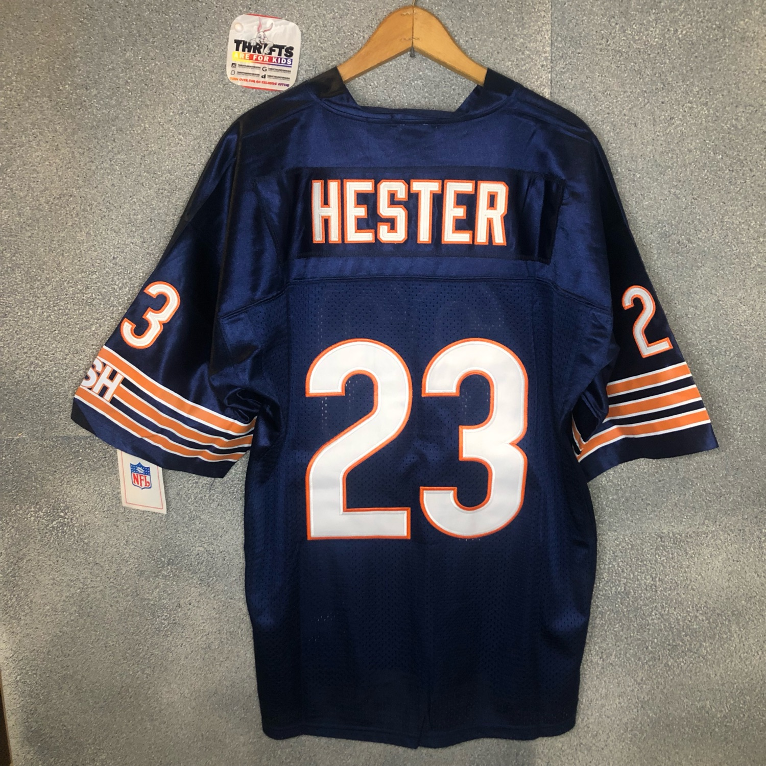 f2203159 Vintage Mitchell And Ness Chicago Bears Nfl Jersey