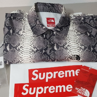 SUPREME THE NORTH FACE SNAKESKIN JACKET