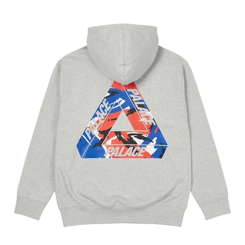 Palace Tri Camo Hood This Lockdown Grey Marl