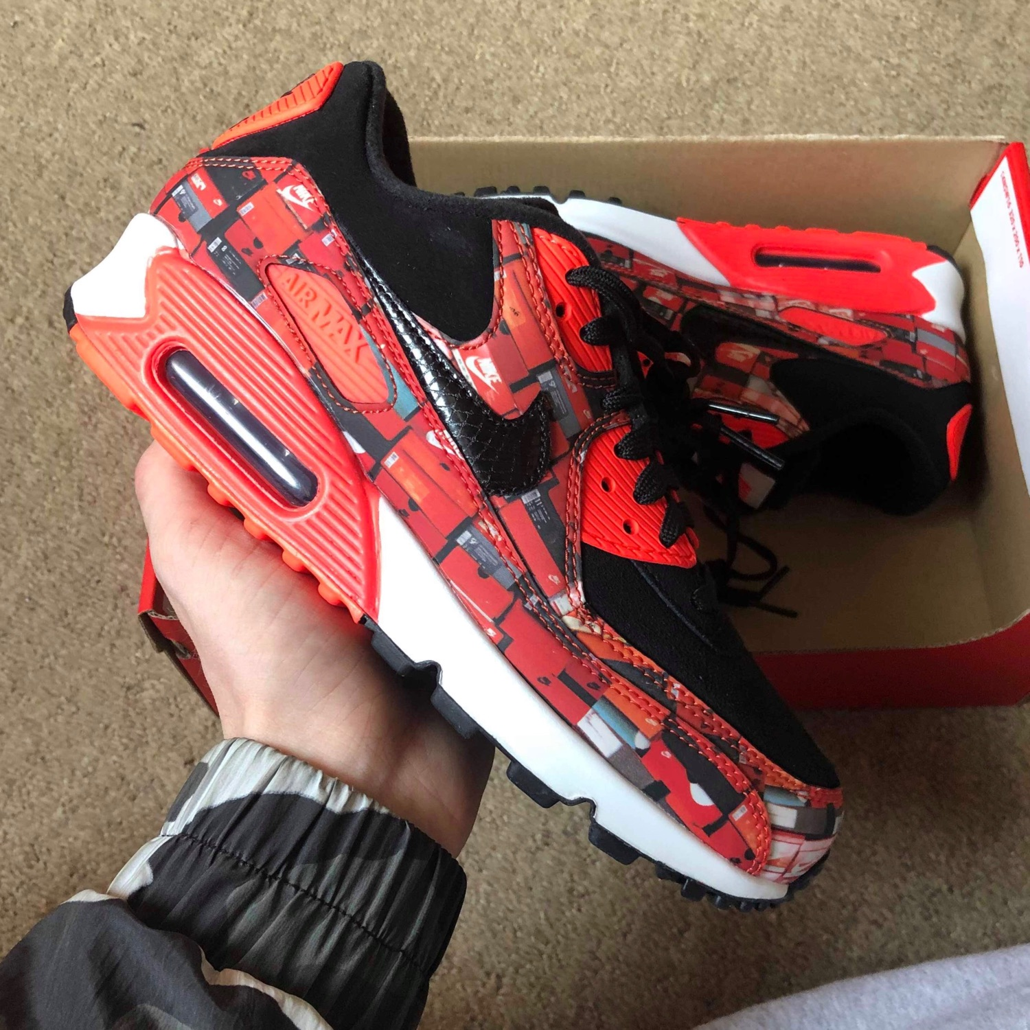 Atmos X Nike Air Max 90 Box Print ( We Love Nike )