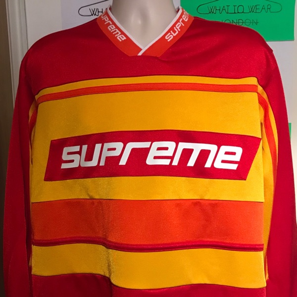 Fw18 Supreme Warm Up Hockey Jersey