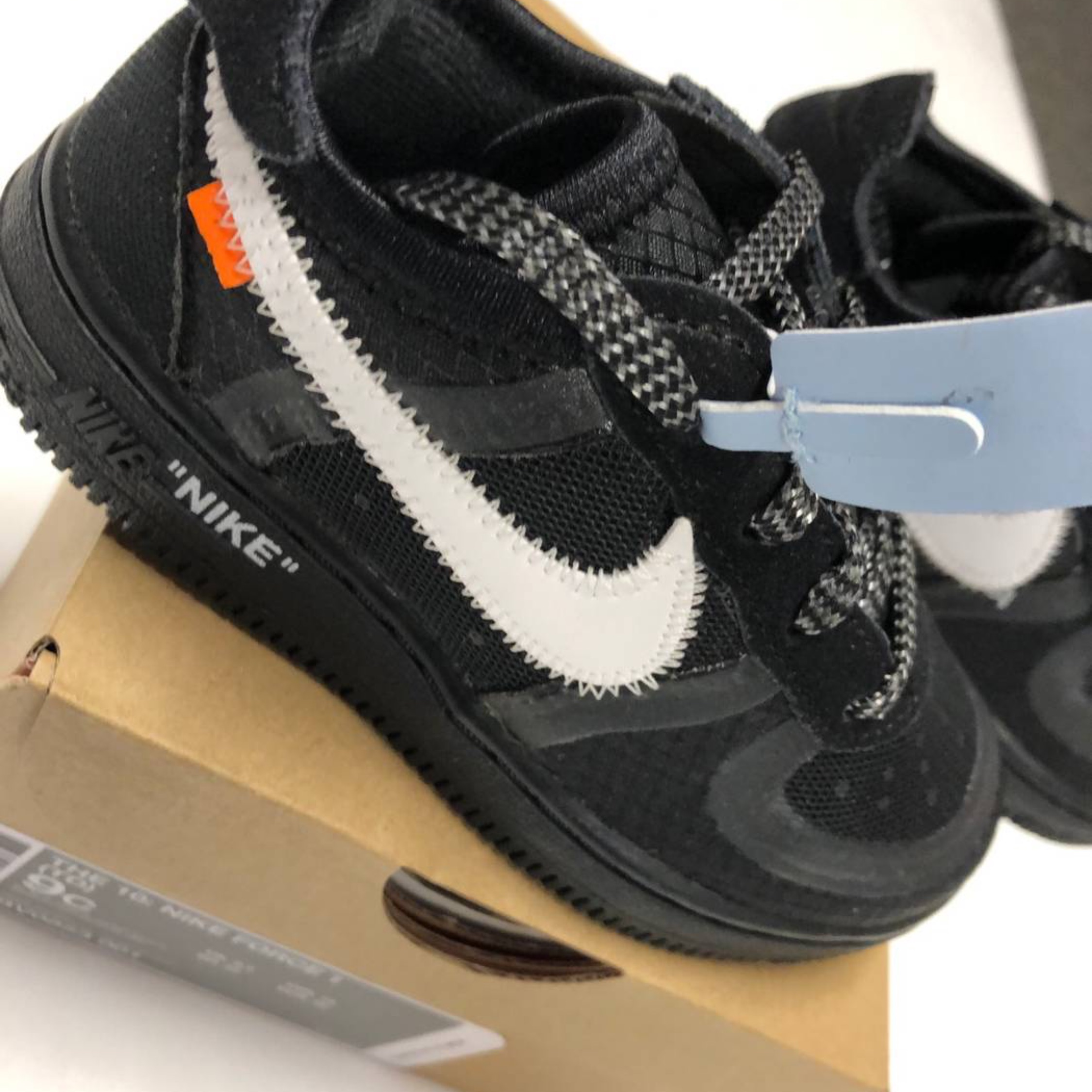 new products 5a219 9ec2e New Deadstock Nike X Off-White Af1 Size 9 Children