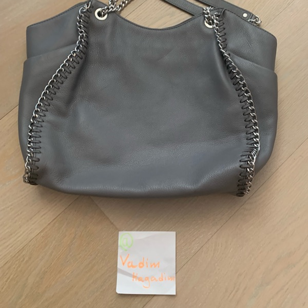 Michael Kors Chelsea Grey Tote Leather Bag