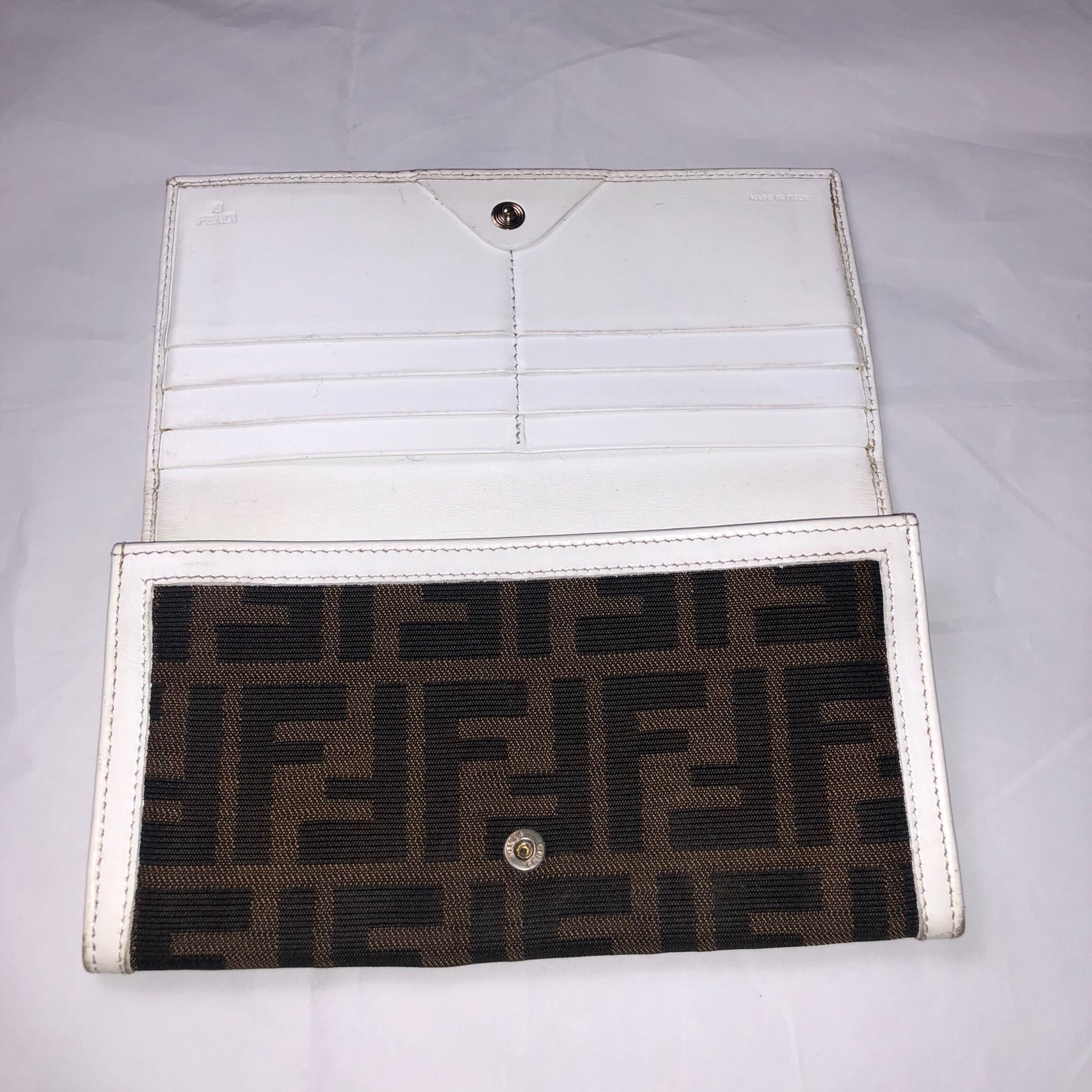 Fendi Monogram Long Wallet