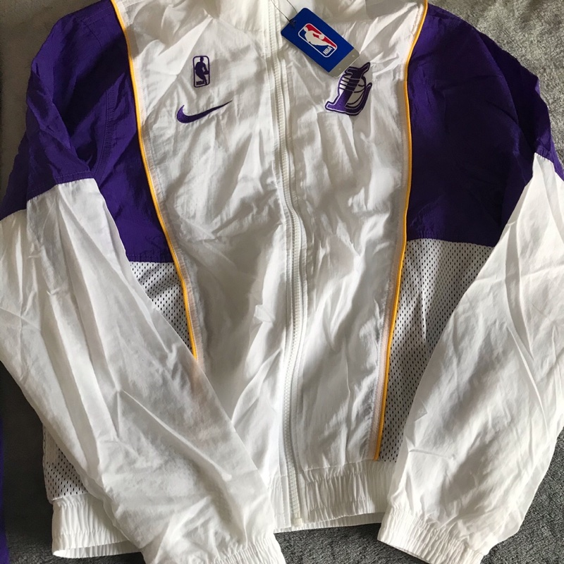 Lakers Track Suit White (Small)