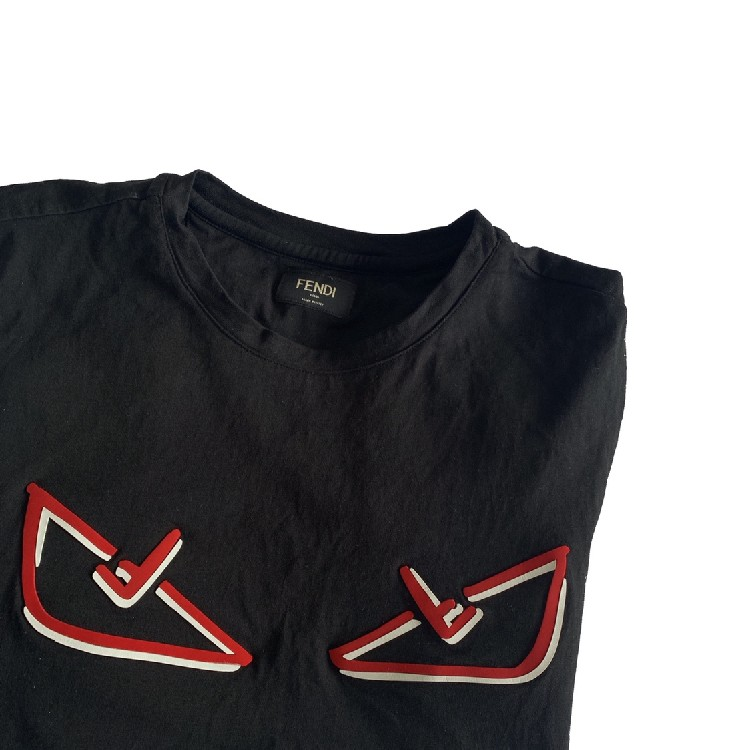 Fendi red eye T-shirt