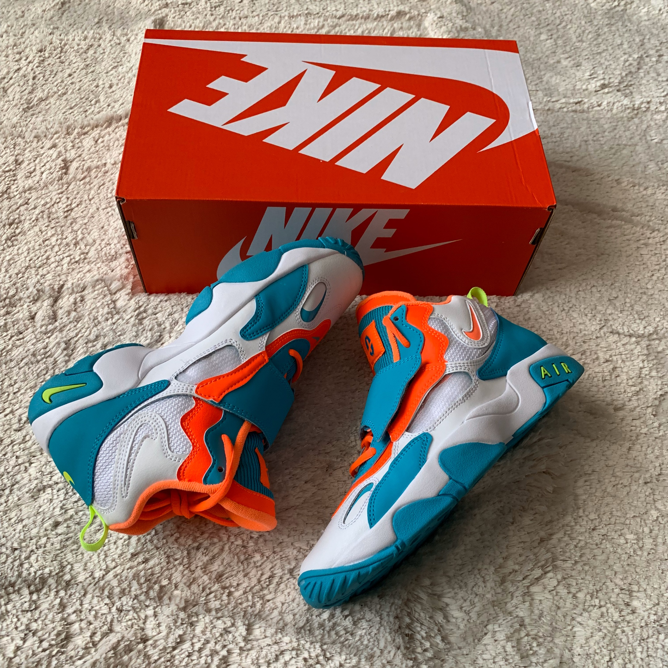 Air Max Speed Turf Green Abyss Amarillo