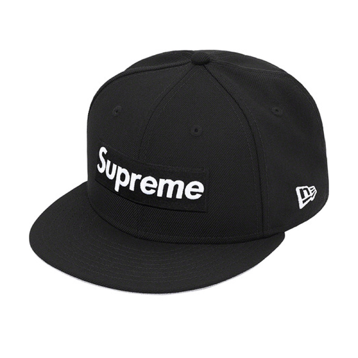 Supreme World Famous Box Logo New Era Black