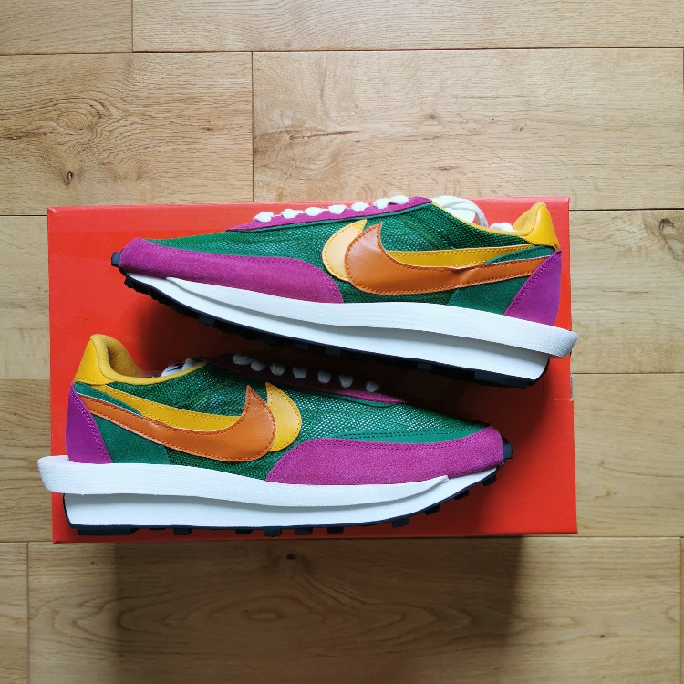 Nike Sacai LDWaffle Pine Green Us 10 UK 9